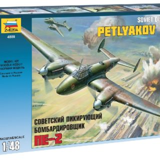 ZVEZDA 4809 Petlyakov Pe-2