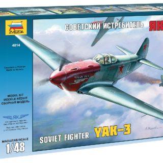 ZVEZDA 4814 Yak - 3 Soviet Wwii Fighter