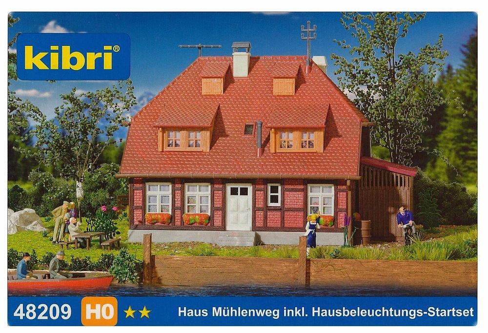 Kibri casa di campagna con illuminazione