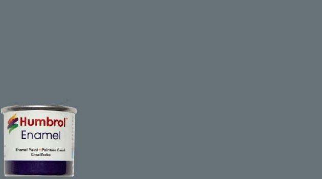 Humbrol Smalto sintetico grigio lucido ammiraglia 5 Modellismo