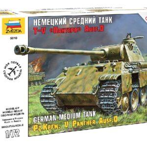 ZVEZDA 5010 Panzerkampfw.V Panther Ausf.D