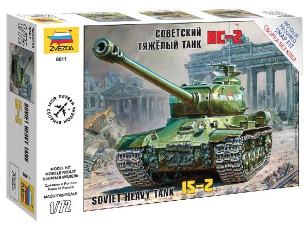 ZVEZDA 5011 Is-2 Stalin