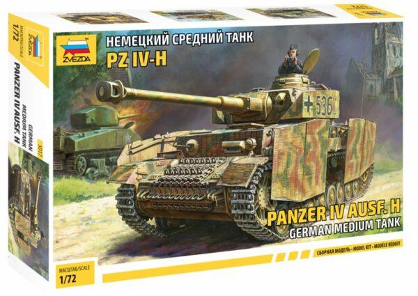 Zvezda 5017 Panzer IV Ausf.H