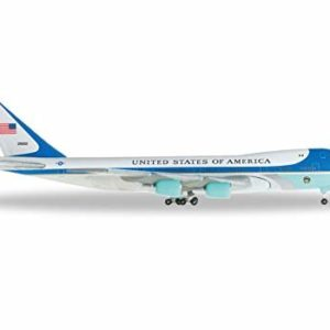 "Herpa 502511-002 Boeing 747-200 / VC-25 ""Air Force One"" Modellismo"