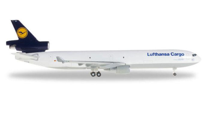 Herpa 503570-004 McDonnell Douglas MD-11F-D-ALCJ Cargo Modellismo