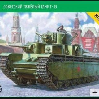 Zvezda 5061 Soviet Heavy Tank T-35