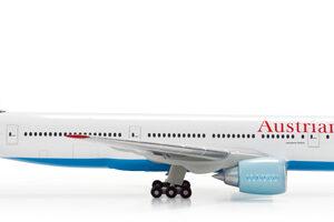 """Herpa 506786-002 Boeing 777-200ER """"Austrian Airlines"""" Modellismo"""