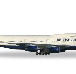 """Herpa 512497-003 Boeing 747-400 Britisch Air """"victoRIOus"""" Modellismo"""