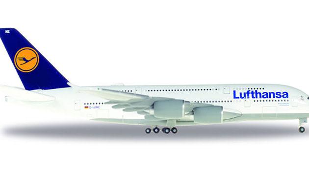 "Herpa 515986-004 Airbus A380 ""Lufthansa Modellismo"