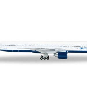 """Herpa 518246-002 Boeing 777- 300ER BA """"G-STBH""""British Air Modellismo"""