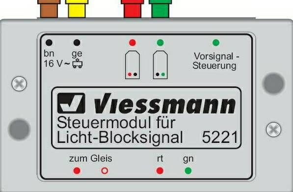 Viessmann 5221 Modulo per segnali luminosi di blocco