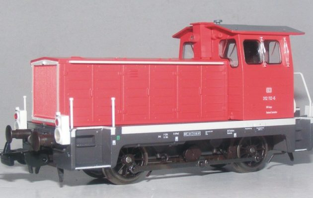 Piko 52632 Locomotore Diesel BR 312 DB AG. .ep. IV