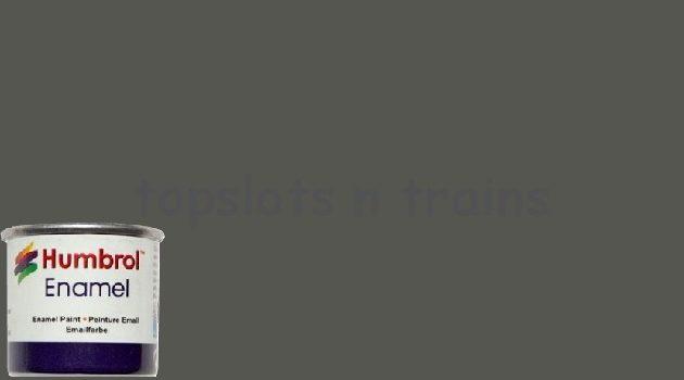 Humbrol Smalto sintetico canna di fucile metalliz 53 Modellismo