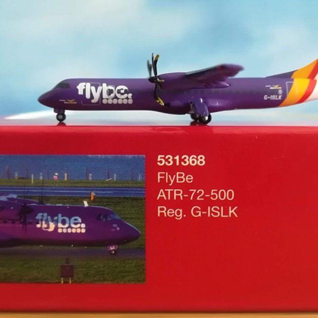 Herpa 531368 ATR-72-500 FlyBe Modellismo