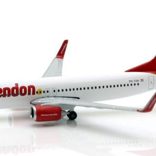 Herpa 531399 Boeing 737-800 Corendon dutch airlines Modellismo