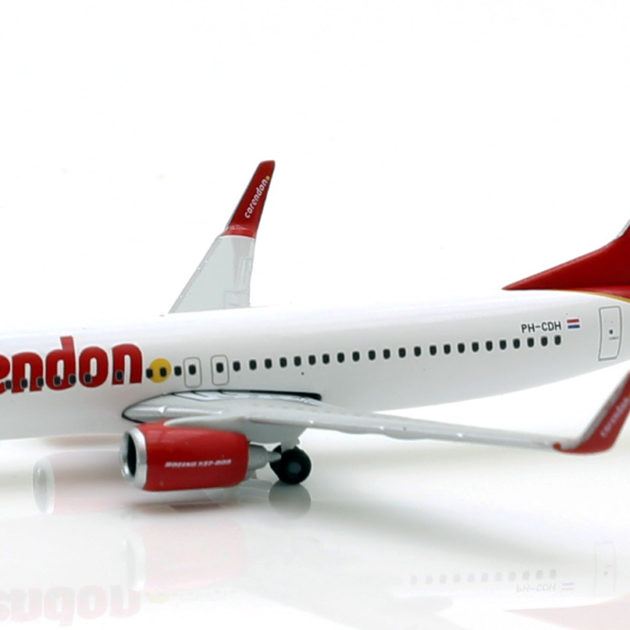 Herpa 531399 Boeing 737-800 Corendon dutch airlines Modellismo