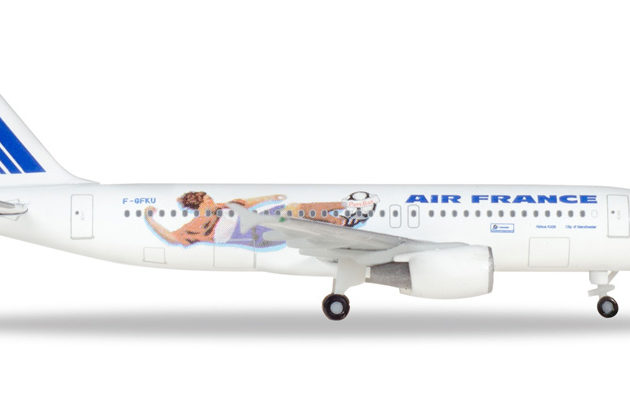 "Herpa 531405 Airbus A320 Air france ""Franci 1998:itali Modellismo"