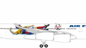 "Herpa 531412 Airbus A340-300 air France ""Francia 1998: Modellismo"