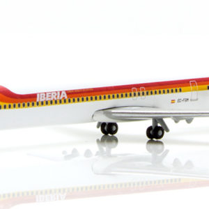 "Herpa 531429 McDonnell Douglas MD-88 Iberia ""torre de  Modellismo"