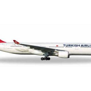 "Herpa 531443 Airbus A330-300 Turkish Airlines "" Pamukk Modellismo"