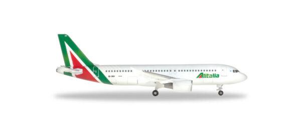 """Herpa 531542 Airbus A320 Alitalia """"Primo Levi"""" Modellismo"""