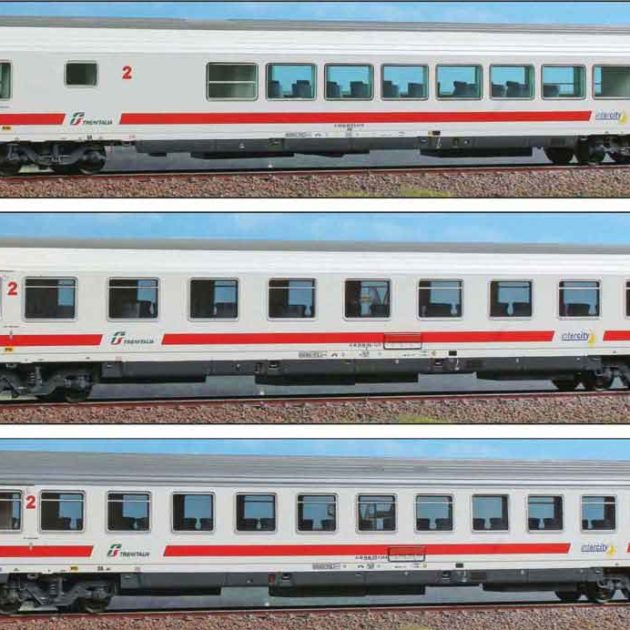 Acme 55195 Set 3 carrozze per treni IC FS