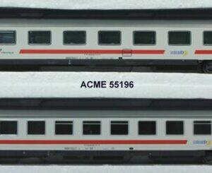 Acme 55196 Set 2 carrozze per treni IC FS
