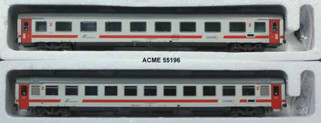 Acme 55196 Set 2 carrozze per treni IC FS