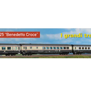 Acme 55213 Set 4 carrozze FS InterCity 'Croce'