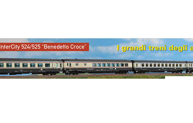 Acme 55213 Set 4 carrozze FS InterCity 'Croce'
