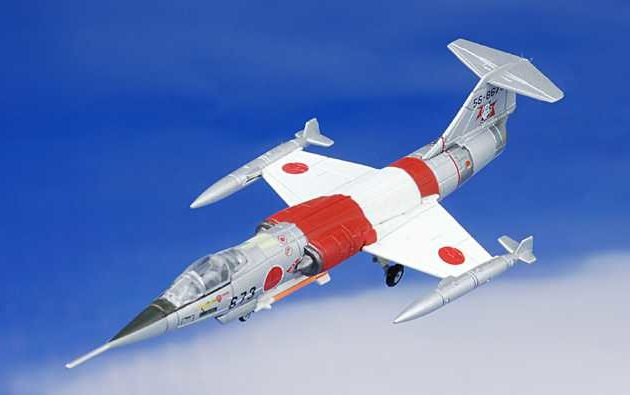 Herpa 552165 LOCKHEED F-104J HIKOTAI KOMAT Modellismo