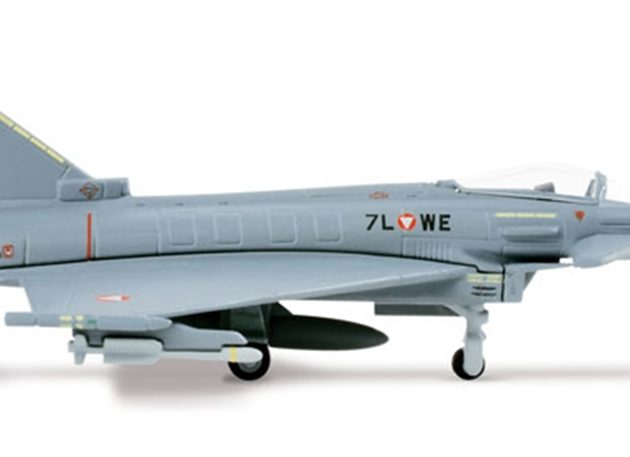 "Herpa 553094-001 EUROFIGHTER AUSTRIAN AF ""7L-WE Modellismo"