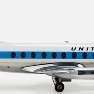 "Herpa 553681 VICKERS VISCOUNT 700 ""UNITED AIRLINES"" Modellismo"