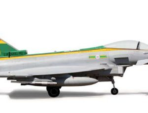 Herpa 555562 ROYAL AIR FORCE EUROFIGHTER Modellismo