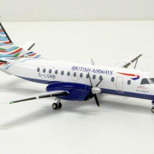 Herpa 555586 BRITISH AIRWAYS SAAB 340 Modellismo