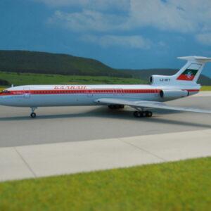 Herpa 555715 Tupolev TU_154B2-LZ-BTT Modellismo