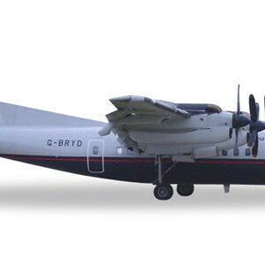 Herpa 558112 De Havilland Canada DHC-7 British Airways Modellismo