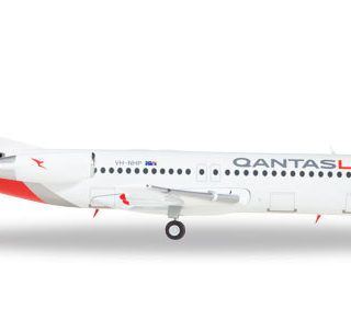 Herpa 559096 Fokker 100 QantasLink Modellismo