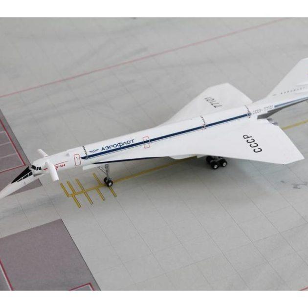 Herpa 559126 Tupolev TU-144S Tupolev Design Bureau Modellismo