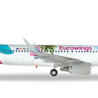 "Herpa 559157 Airbus A320 Eurowings Europe "" Eourowings Modellismo"
