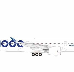 Herpa 559171 Airbus A350-1000 Airbus Modellismo
