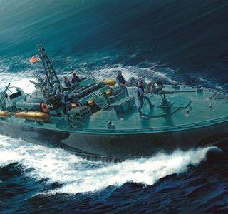 ITALERI 5602 Elco 80 Torpedo Boat Pt  Prm Edition