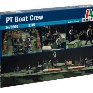 ITALERI 5606 Elco 80' Pt Boat Crew - Include 10 Figurini