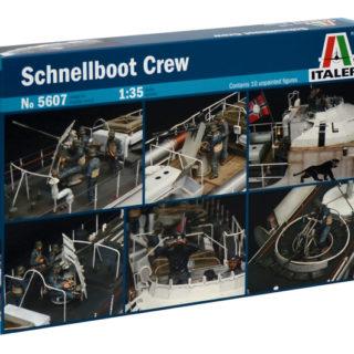 ITALERI 5607 Schnellboot Crew - Include 10 Figurini