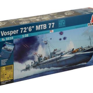 """ITALERI 5610 Vosper 72 """" 6 Mbt 77 Prm Edition"""