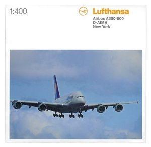 "Herpa 561068-001 Airbus A380 ""Lufthansa"" Modellismo"