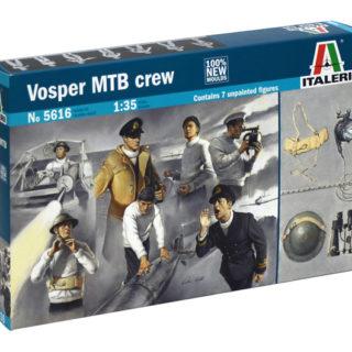 ITALERI 5616 Vosper Crew - Include 6 Figure