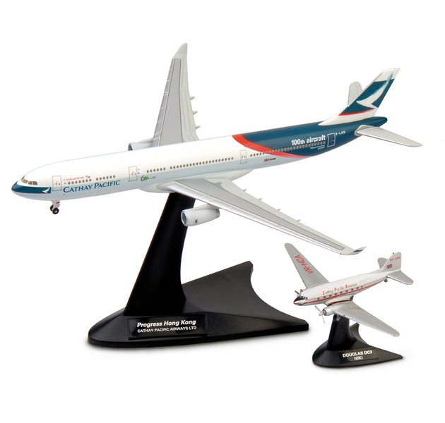 Herpa 562089 SET CATHAY PAC Modellismo