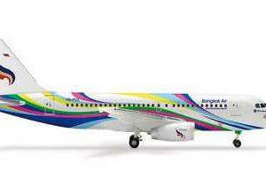 "Herpa 562157 Airbus A319 Bangkok ""Hiroshima"" Modellismo"