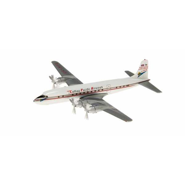 Herpa 562164 DC-6B CATHAY PACIFIC Modellismo